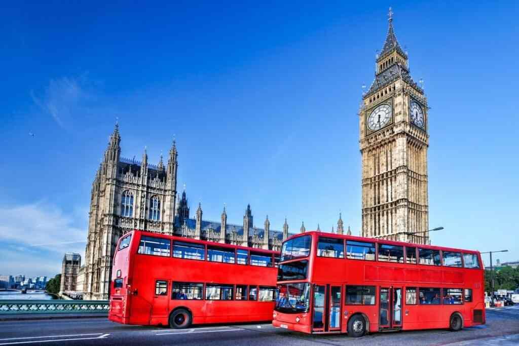 phương tiện di chuyển tại Anh