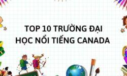 TOP 10 trường Đại học nổi tiếng tại Canada năm 2021