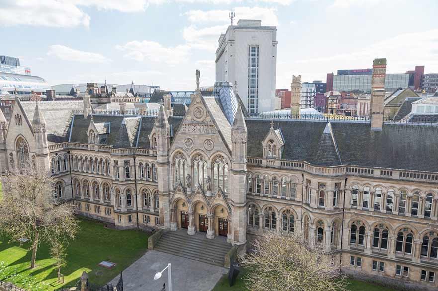 Nottingham Trent University - trường Đại học đào tạo du học ngành Kỹ xảo điện ảnh