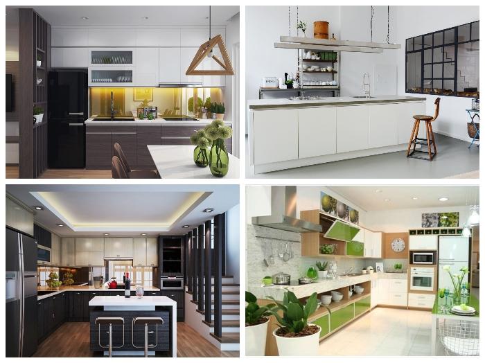 Thiết kế nội thất nhà bếp và phòng tắm