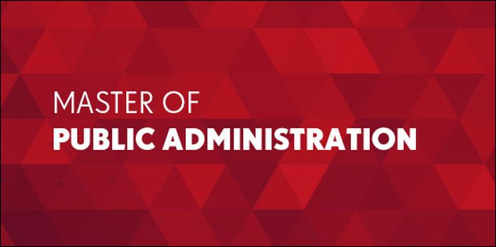 Master of Public Administration – MPA